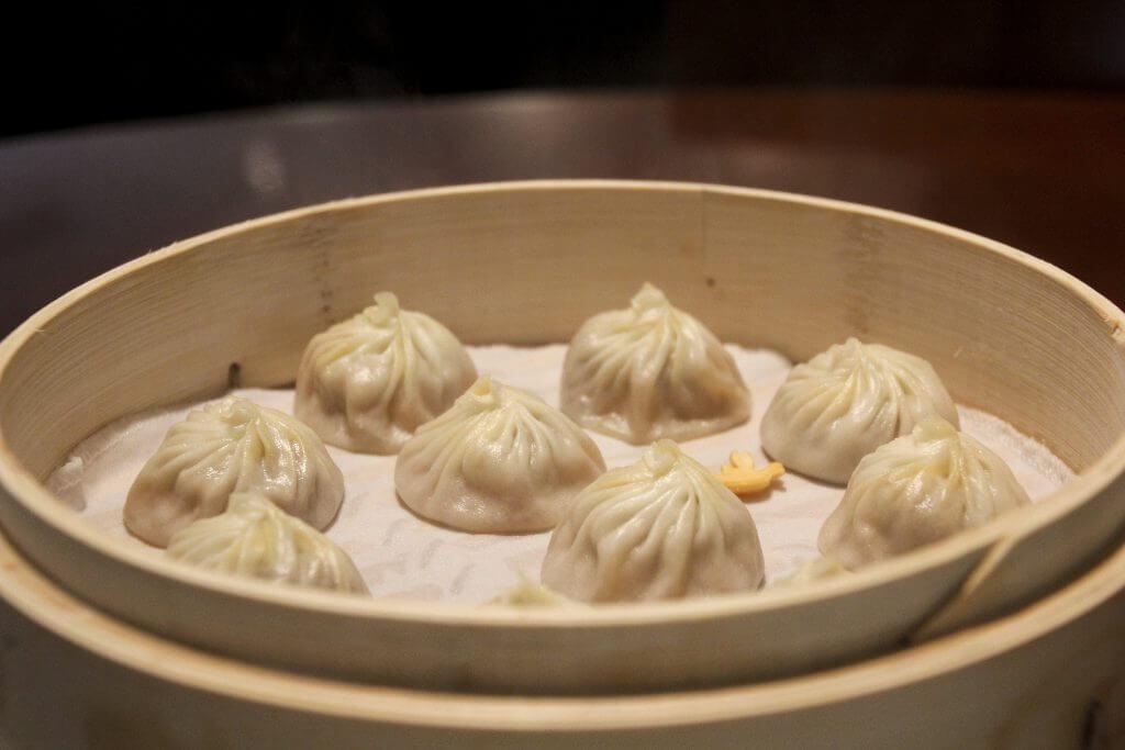 Dumplings im Din Tai Fung Shanghai