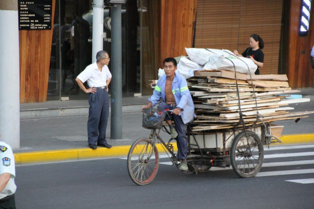 Transportunternehmer in Shanghai