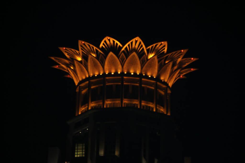 Krone des Westin Bund Center Shanghai