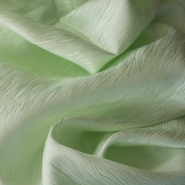 Seidenjacquard lindgrün