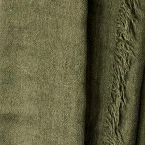 Schal olivgrün