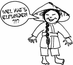 Chinesli fragt sich: Wel hat's elfunden?