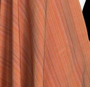 Seidenstoff Streifen Brauntöne