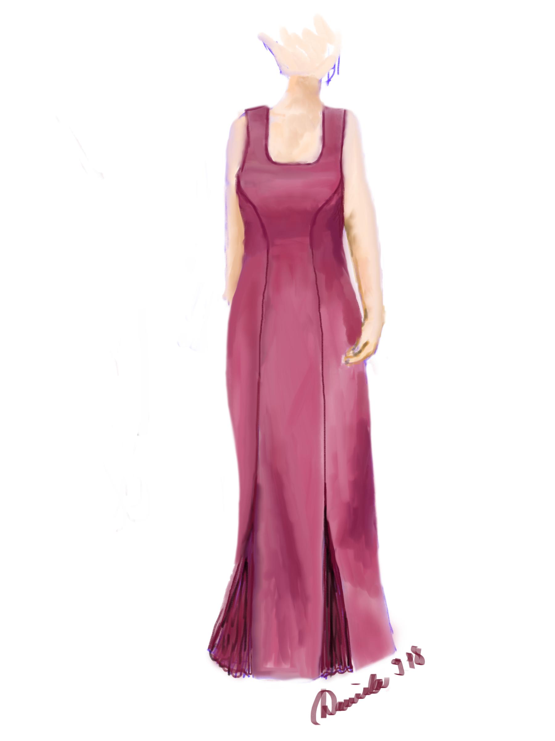 Ein Kleid für Mona